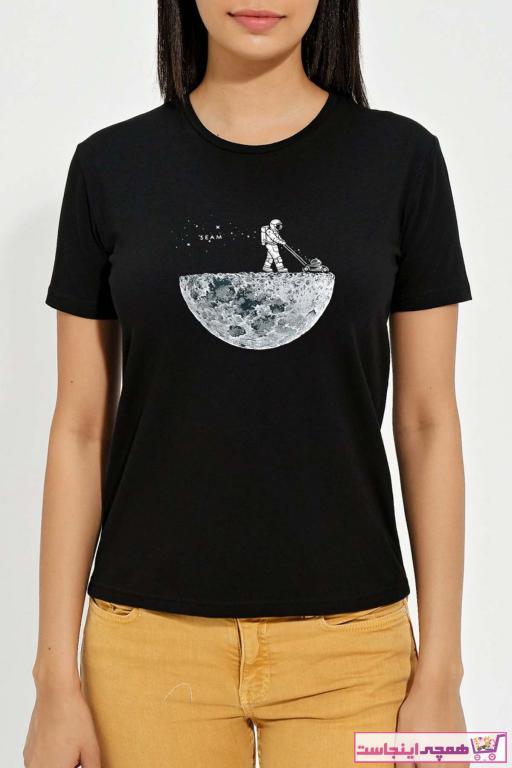 تیشرت شلوارک زنانه برند Seam Textile رنگ مشکی کد ty70168177