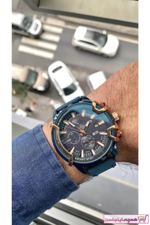 خرید ارزان ساعت مچی مردانه لوکس برند Belleda رنگ آبی کد ty70378468