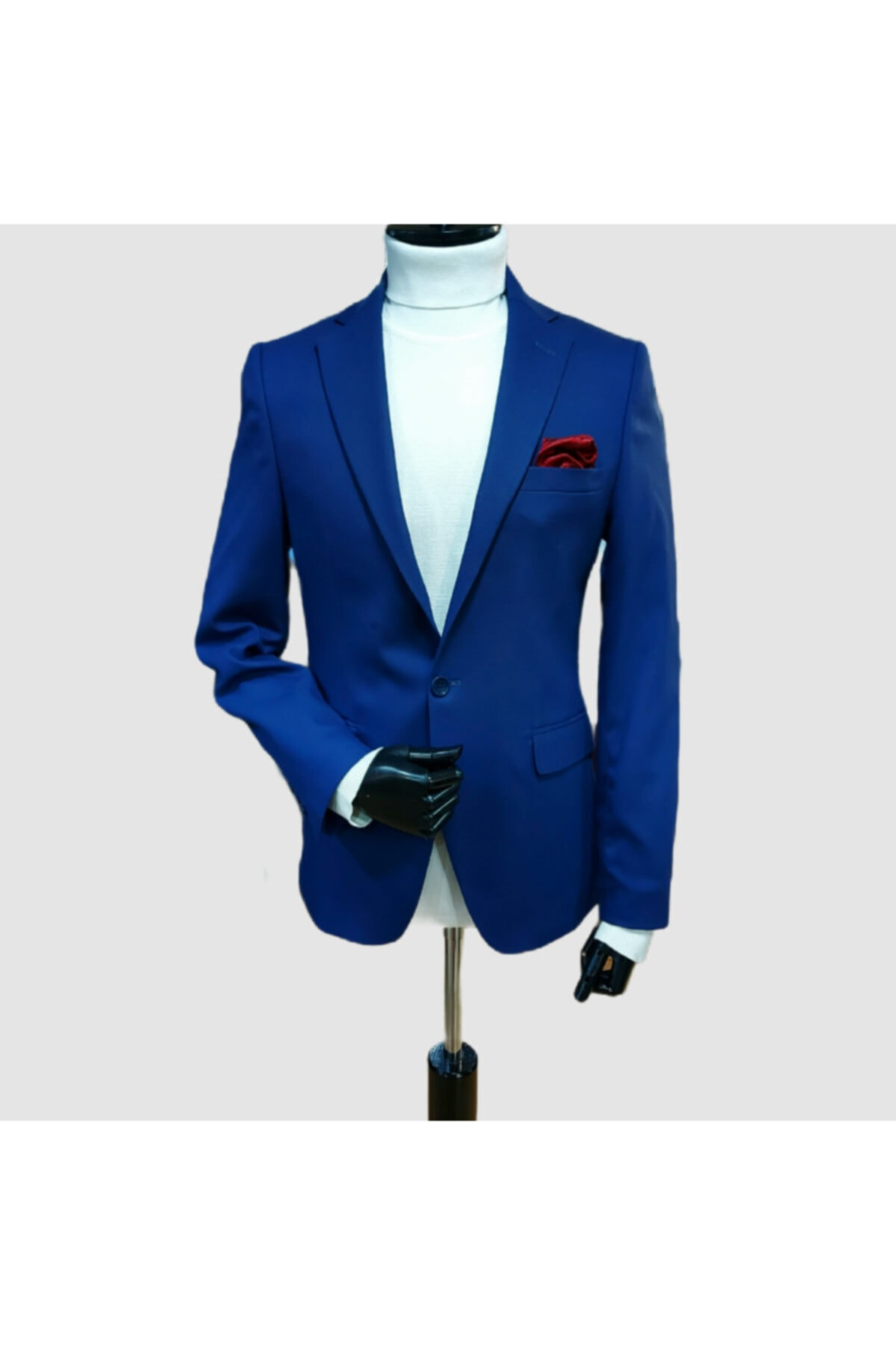 کت تک مردانه ترک برند marka19 رنگ لاجوردی کد ty70648746