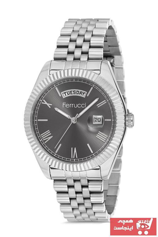 سفارش ساعت مردانه برند Ferrucci رنگ نقره ای کد ty70920777