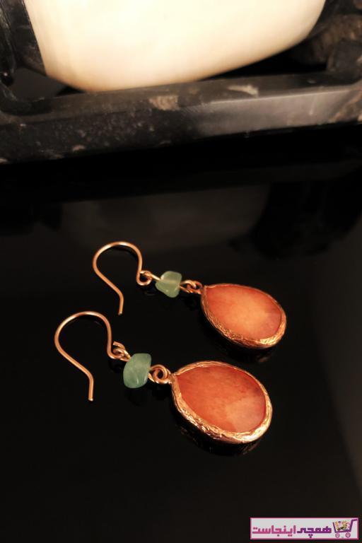 گوشواره زنانه اسپرت برند Dr. Stone رنگ نارنجی کد ty7153351
