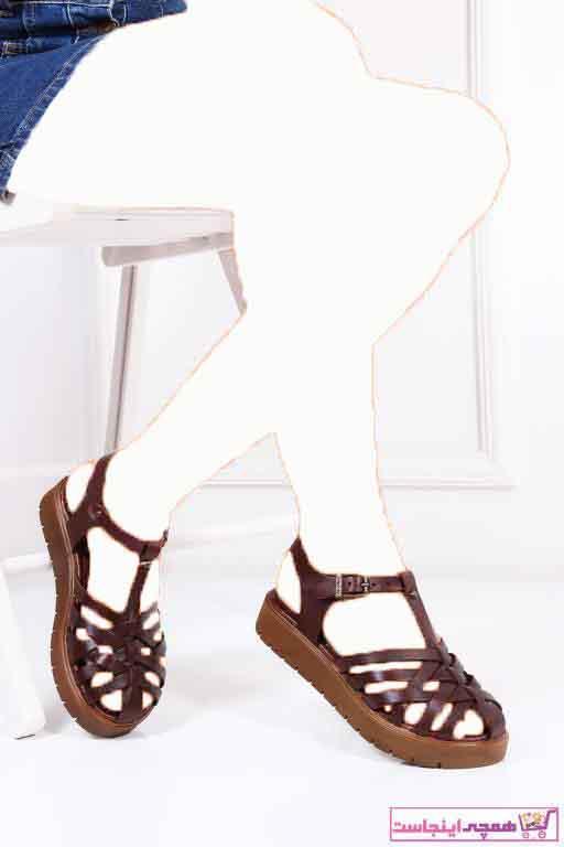 خرید ارزان صندل  دخترانه برند Deripabuc رنگ قهوه ای کد ty7168358