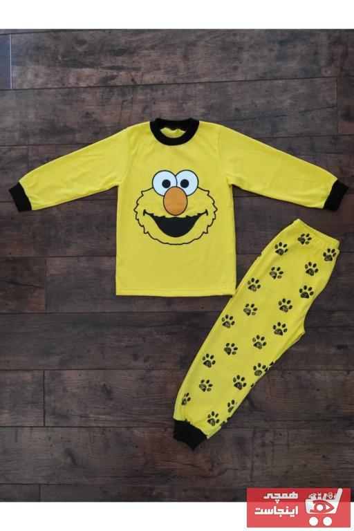 فروش ست راحتی دخترانه فانتزی برند Cusimio رنگ زرد ty71878375