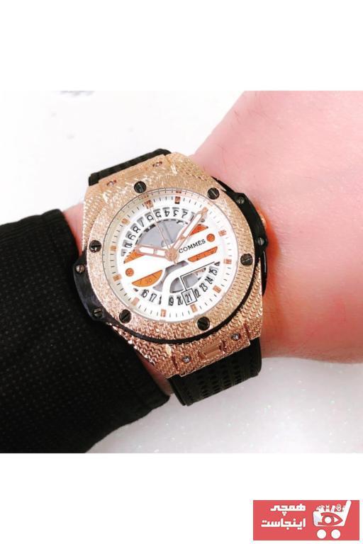 خرید ساعت مردانه  ارزان برند COMMES رنگ مشکی کد ty72230807
