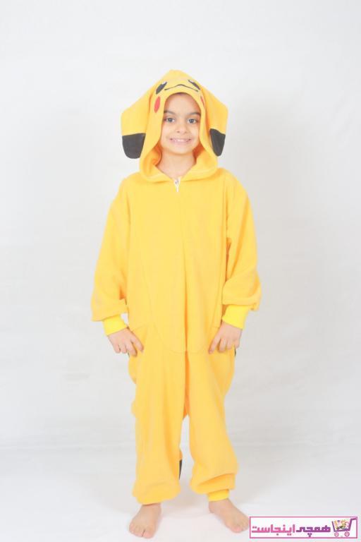 خرید پستی لباس خاص پسرانه پارچه نخی برند yüsü kostüm evi رنگ زرد ty72274046