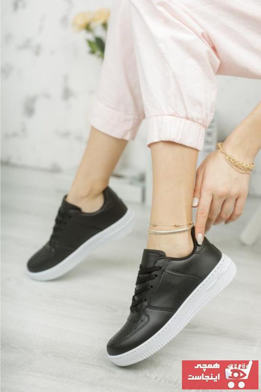 کفش اسپرت مردانه فانتزی برند Moda Frato رنگ مشکی کد ty72590216
