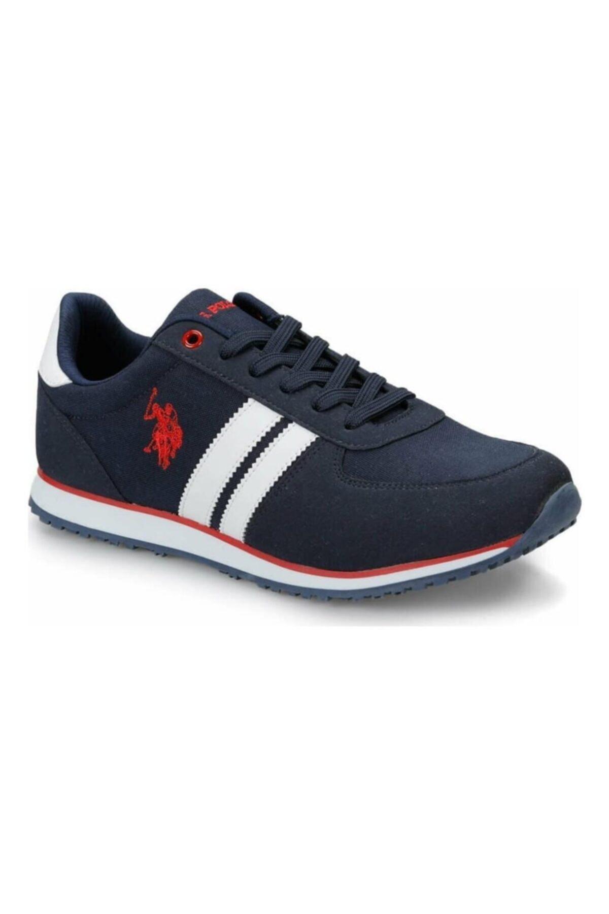 کفش اسپرت شیک برند یو اس پولو رنگ لاجوردی کد ty72611858