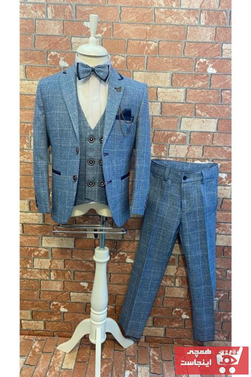 لباس مجلسی بچه گانه ترک برند HAYTA رنگ آبی کد ty72699611
