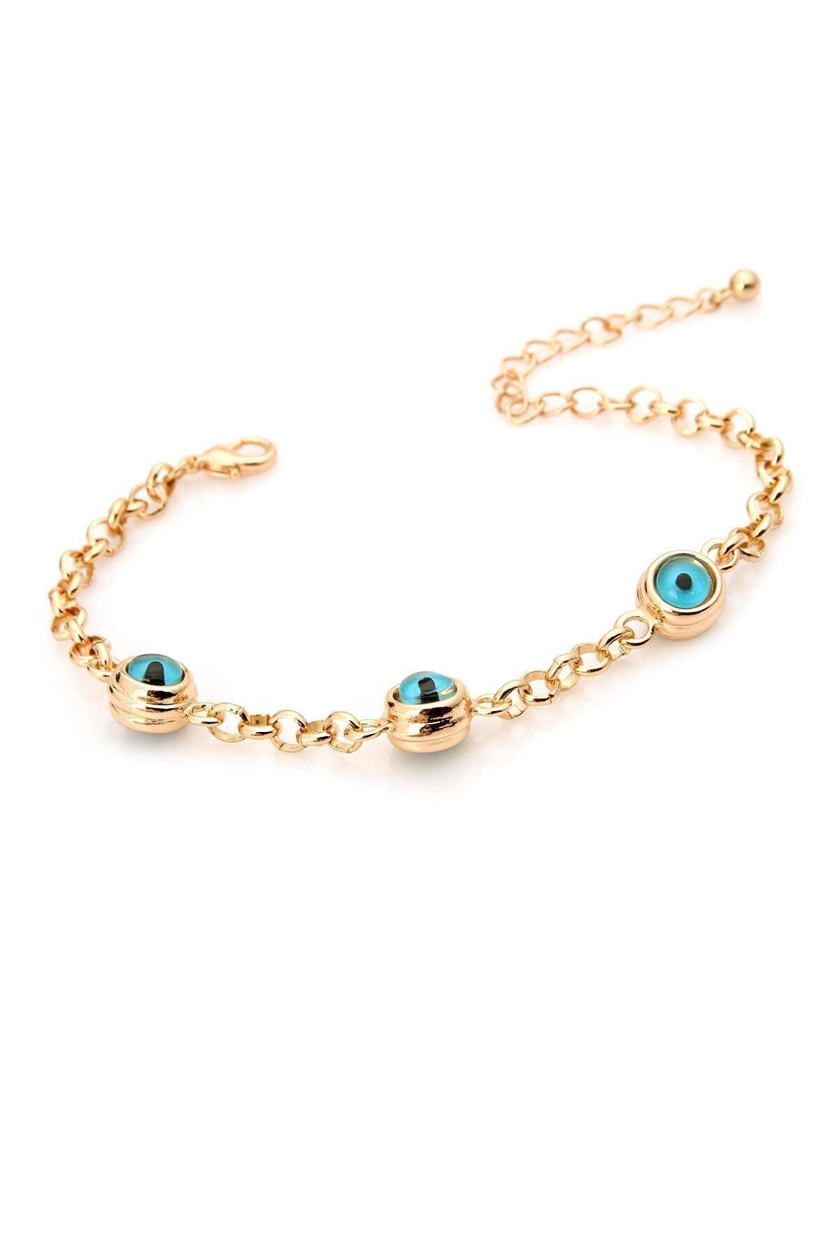 سفارش دستبند ارزان زنانه برند KOBA رنگ طلایی ty73107277