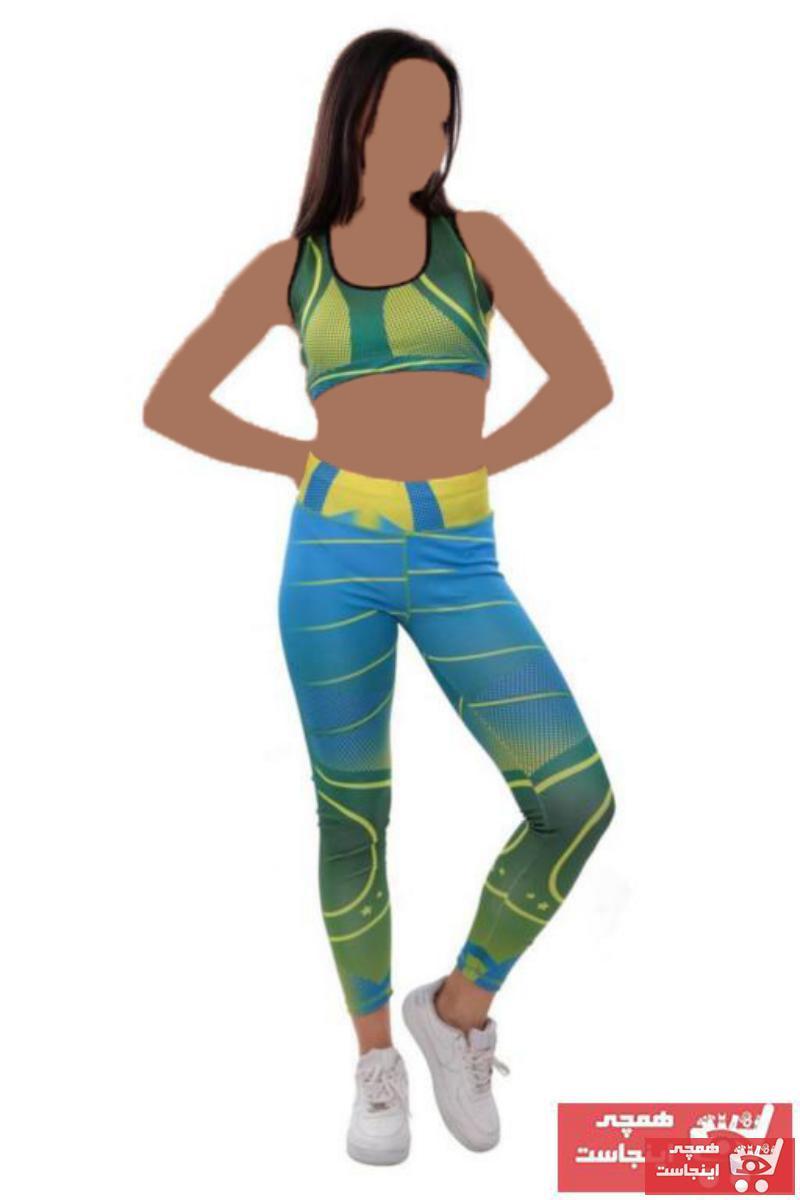 فروش نقدی لگ ورزشی زنانه خاص برند LasseWinta رنگ آبی کد ty73217438