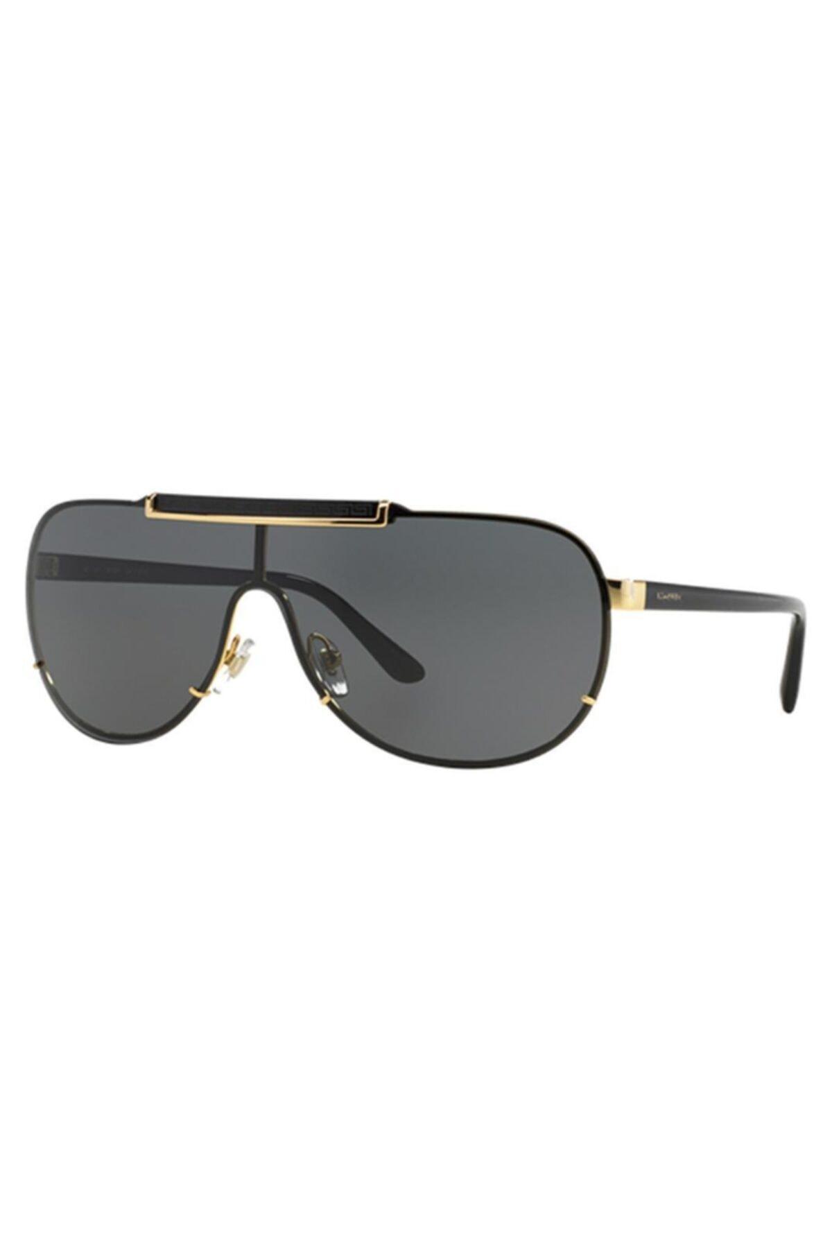 عینک آفتابی بلند برند ورساچ رنگ نقره ای کد ty73309035