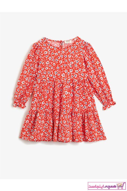 خرید نقدی پیراهن دخترانه فانتزی برند کوتون رنگ نارنجی کد ty73361927