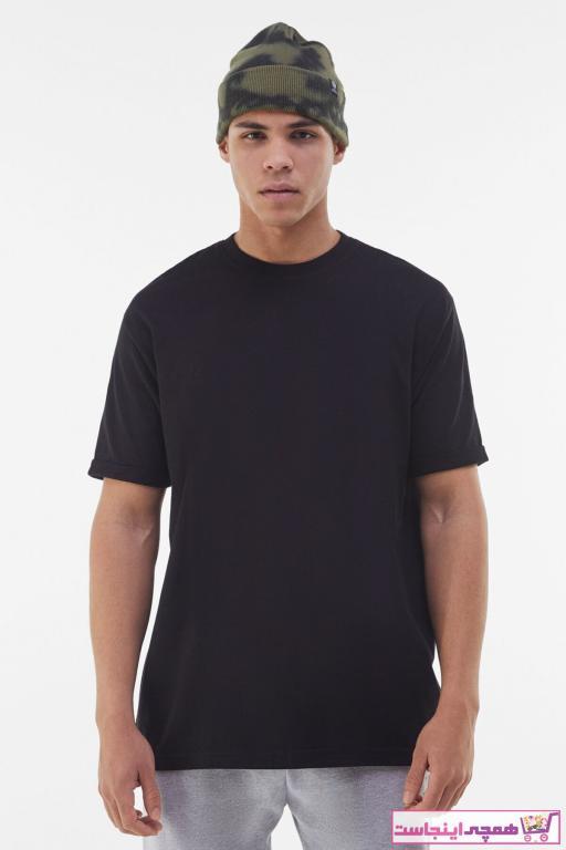 خرید نقدی تی شرت مردانه  برند bershka رنگ مشکی کد ty73525659