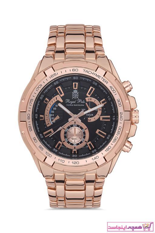 خرید انلاین ساعت مردانه برند Royal Club De Polo Barcelona رنگ صورتی ty73773134