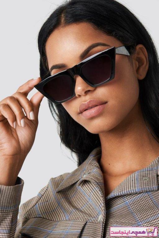 حرید اینترنتی عینک آفتابی زنانه ارزان برند Mathilda Aksesuar رنگ مشکی کد ty74564560