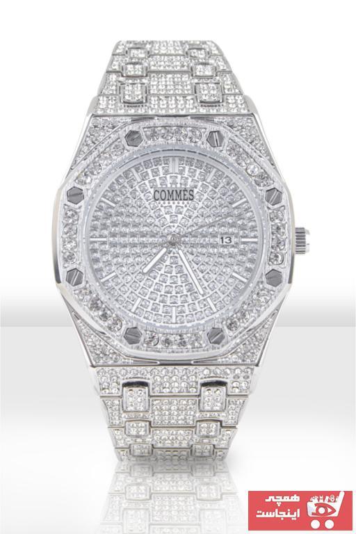 خرید پستی ساعت مچی مردانه لوکس اصل برند COMMES رنگ نقره کد ty74824984