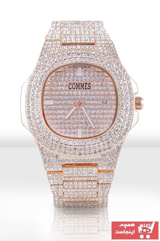 خرید آنلاین ساعت مچی مردانه  برند COMMES رنگ صورتی ty74827207
