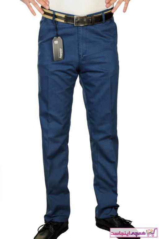 شلوار مردانه قیمت برند FAGETTO PANTOLON رنگ آبی کد ty74905817