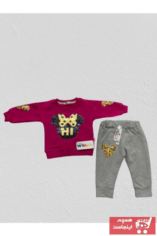 خرید ارزان ست لباس فانتزی نوزاد دخترانه Yuvam Baby رنگ صورتی ty74954960