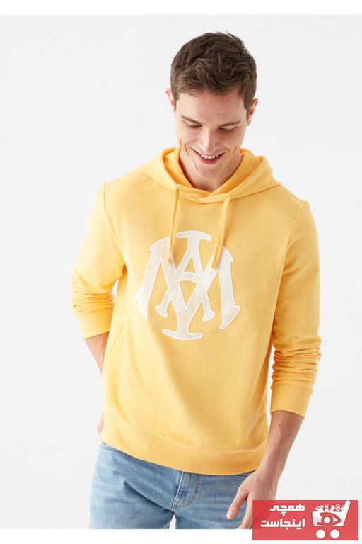 سویشرت مردانه جدید برند ماوی رنگ زرد ty74969551