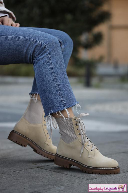 فروش پستی ست چکمه دخترانه برند Ommo Shoes رنگ بژ کد ty75171731