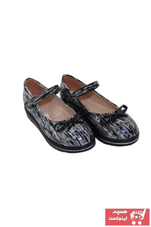 خرید اسان کفش تخت بچه گانه دخترانه فانتزی برند Mini Angel رنگ مشکی کد ty75190160