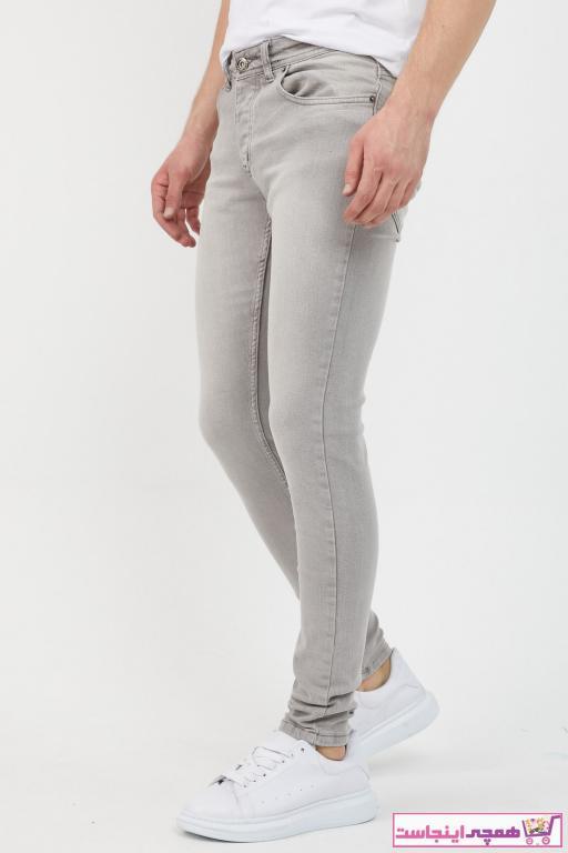 خرید پستی شلوار جین مردانه برند MODAMESTO رنگ نقره ای کد ty75547096