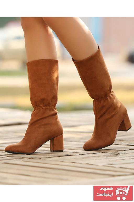چکمه خاص برند Gamze Shoes رنگ قهوه ای کد ty75930889