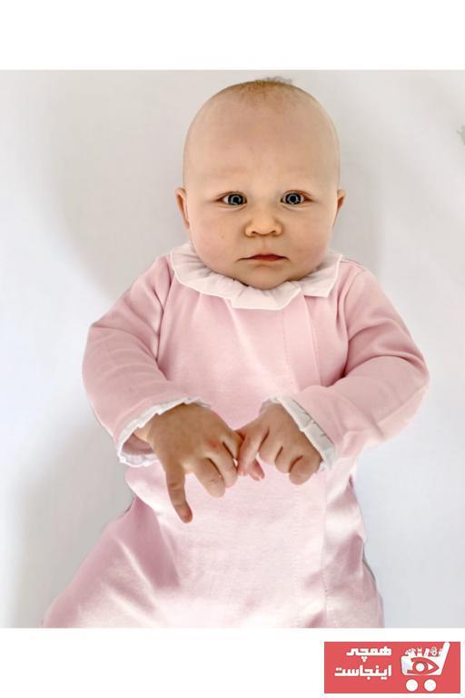 فروشگاه سرهمی نوزاد دخترانه برند POETREE KIDS رنگ صورتی ty75943369