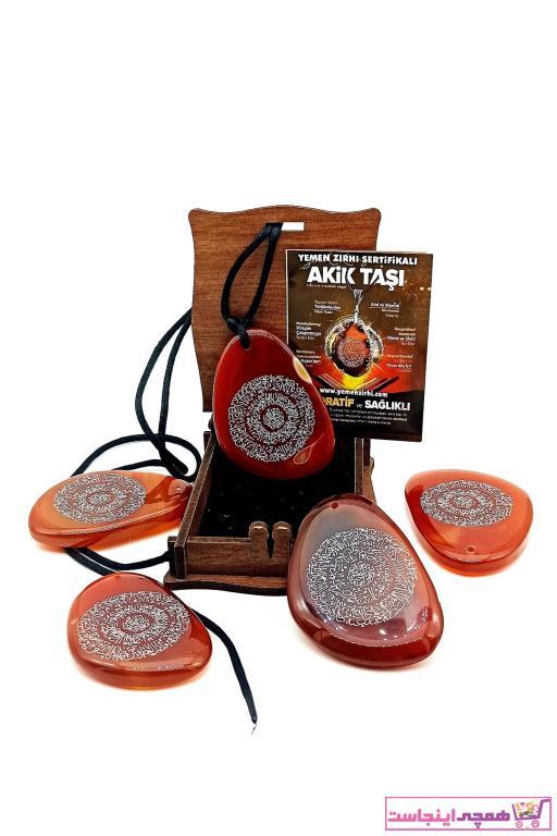 خرید اینترنتی گردنبند خاص برند TAUS STONE رنگ قهوه ای کد ty75963732