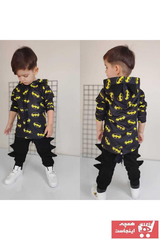 خرید انلاین لباس خاص جدید پسرانه شیک برند Batman رنگ مشکی کد ty76964738