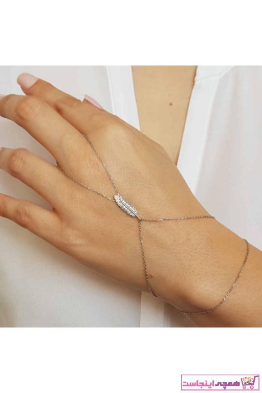 دستبند انگشتی زنانه برند CNG رنگ نقره کد ty77470975