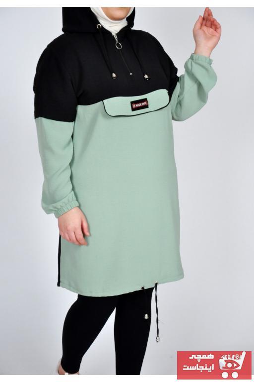 تونیک زنانه قیمت مناسب برند Butik Ahengi رنگ سبز کد ty77498453