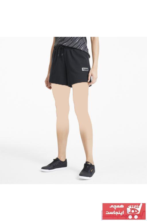فروشگاه شلوارک ورزشی مردانه اینترنتی برند پوما رنگ مشکی کد ty77539154