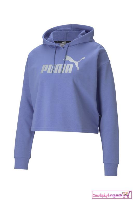 خرید انلاین گرمکن ورزشی طرح دار برند Puma رنگ آبی کد ty77539241
