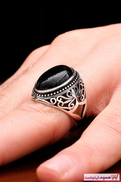 انگشتر مردانه ترک برند Silva Silver رنگ نقره کد ty78296660