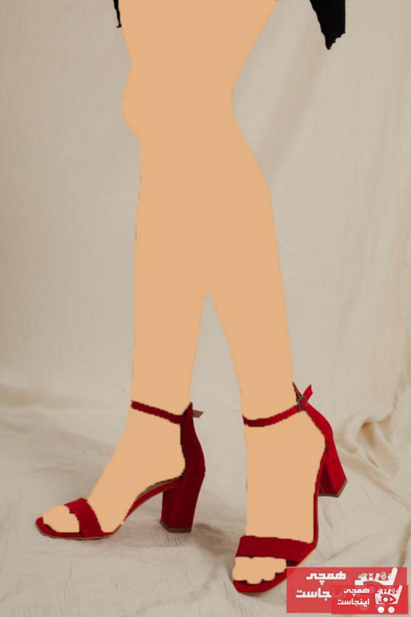 پاشنه دار جدید برند Daxtors رنگ قرمز ty78884574