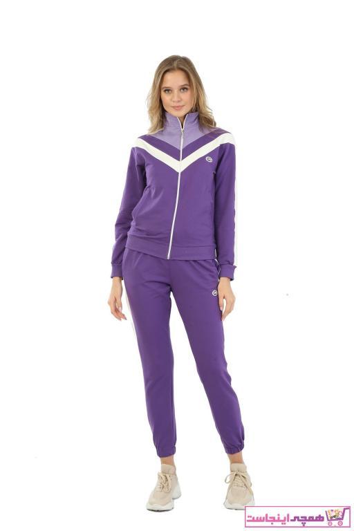 خرید نقدی ست ورزشی زنانه ترک برند LONGER رنگ بنفش کد ty79160536