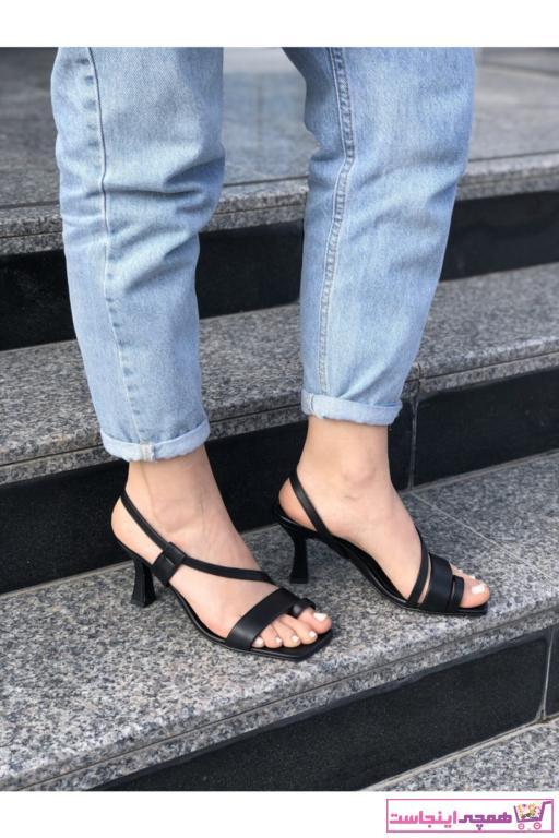 فروش پستی پاشنه دار زنانه ترک برند belleza shoes رنگ مشکی کد ty79329061