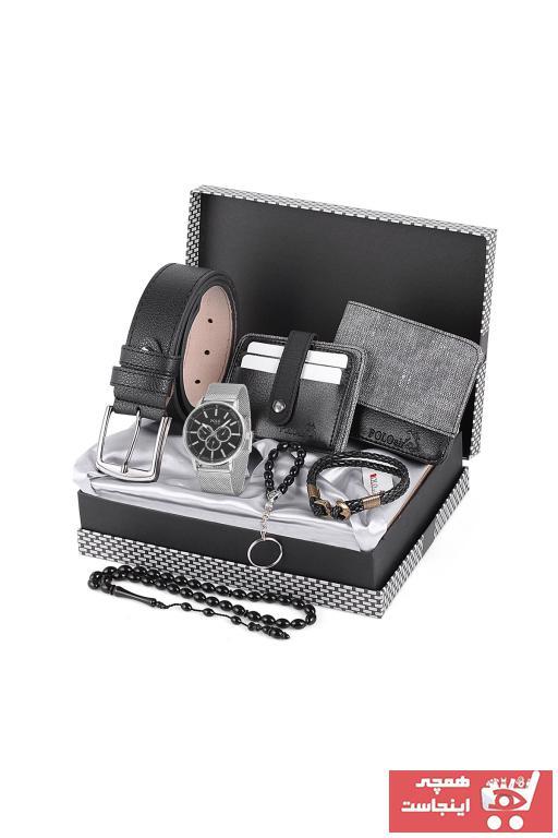 خرید پستی ساعت مچی مردانه لوکس اصل برند POLO Rucci رنگ نقره ای کد ty79681853