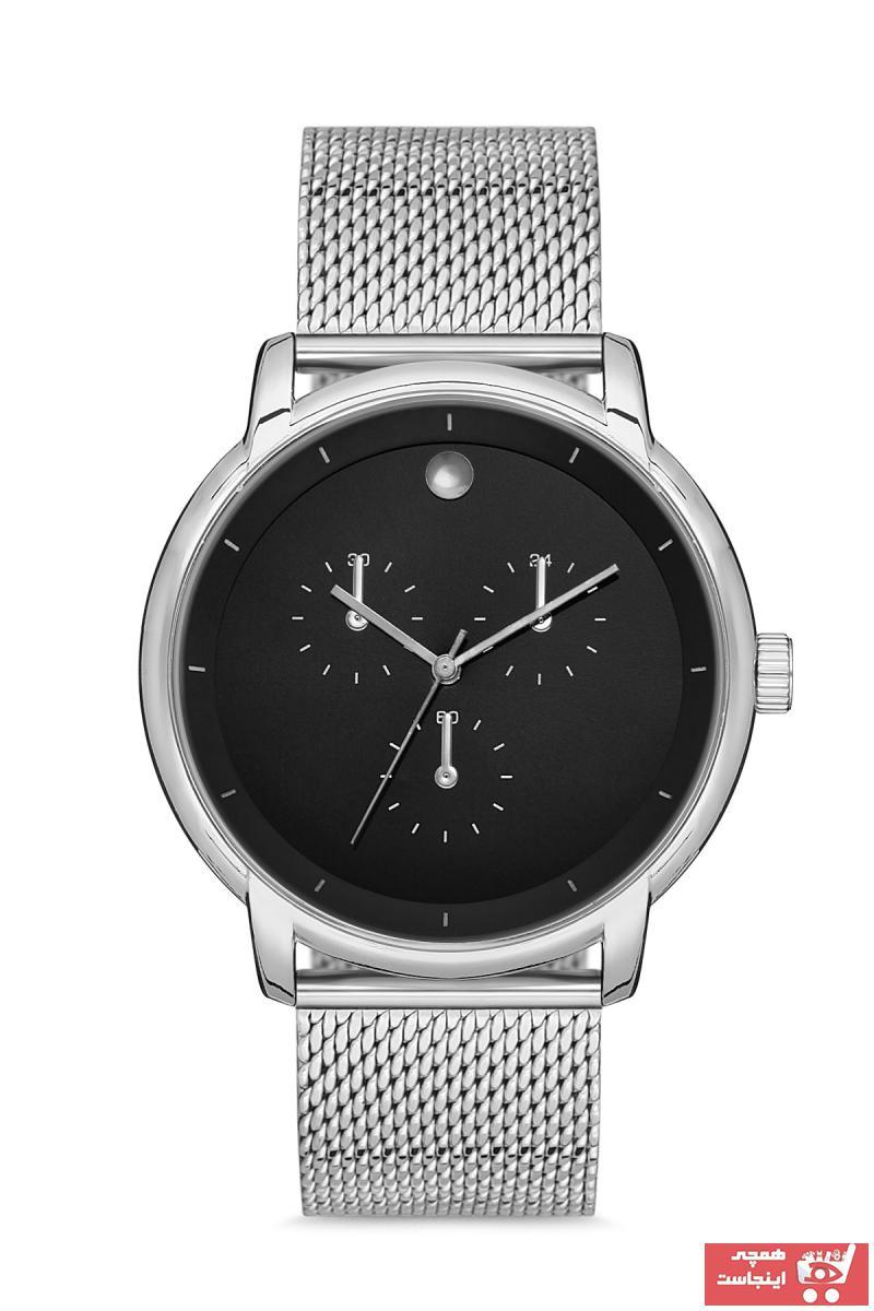 فروش ساعت مردانه اورجینال مارک Aqua Di Polo 1987 رنگ نقره کد ty80138220