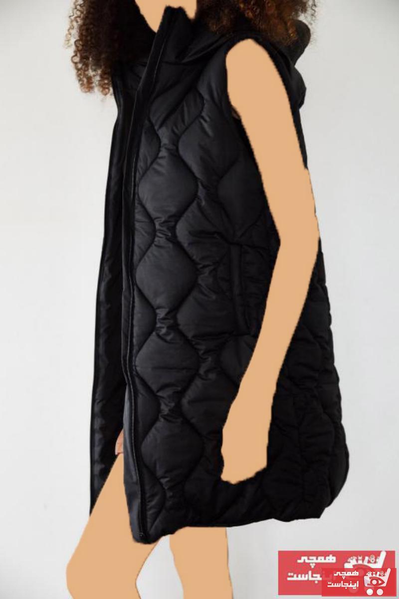 خرید انلاین جلیقه زنانه خاص برند XENA رنگ مشکی کد ty80351374
