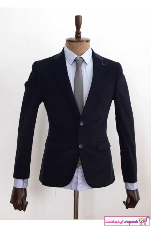 خرید پستی کت تک اصل برند Polim Pier رنگ لاجوردی کد ty81263898