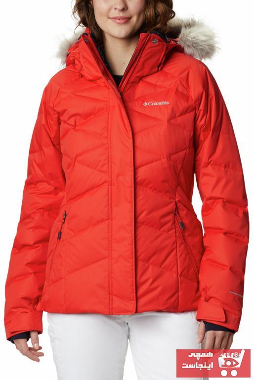 خرید اسان کاپشن ورزشی مردانه زیبا برند کلمبیا رنگ نارنجی کد ty81368266