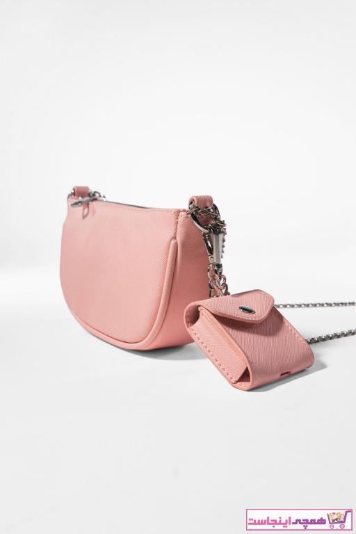 فروش پستی ست کیف دستی دخترانه مارک برشکا رنگ صورتی ty81373597