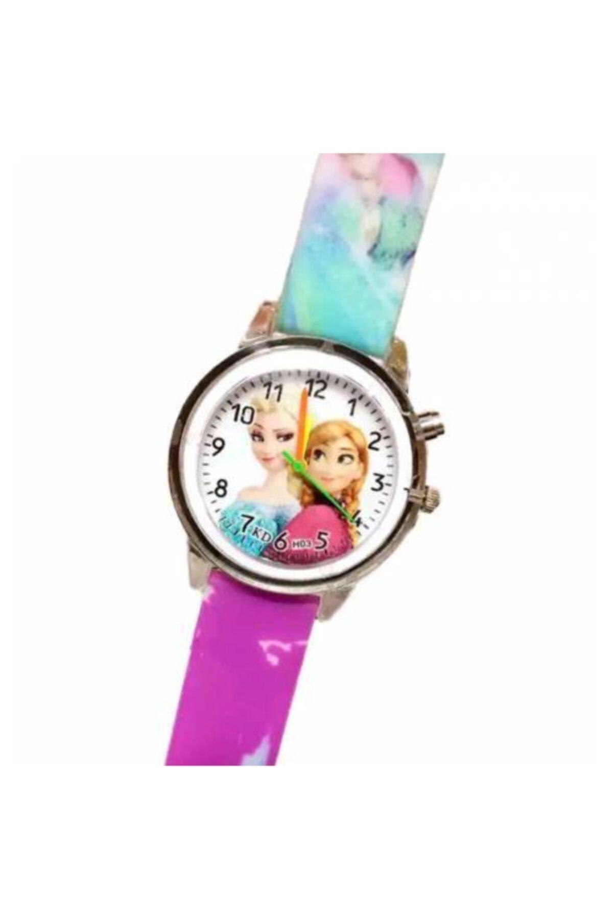 ساعت بچه گانه شیک جدید برند Frozen Elsa رنگ بنفش کد ty81526010