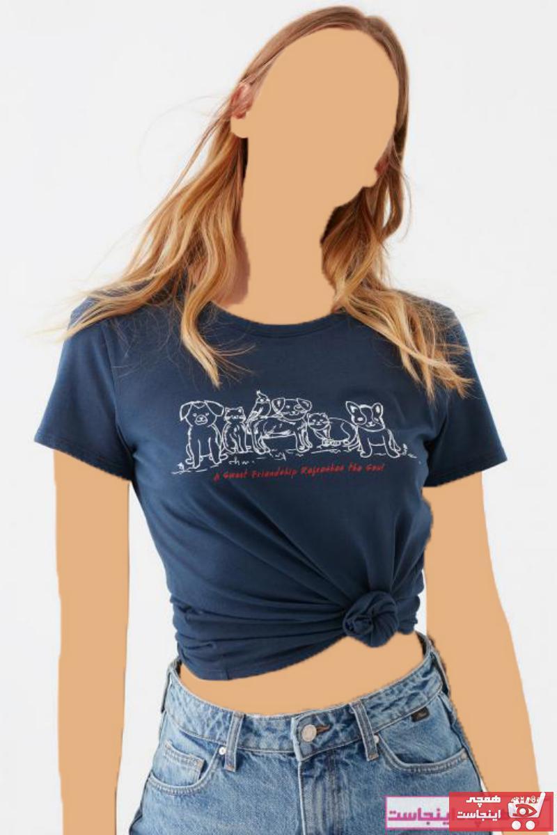 تیشرت خاص زنانه برند ماوی رنگ لاجوردی کد ty81849869