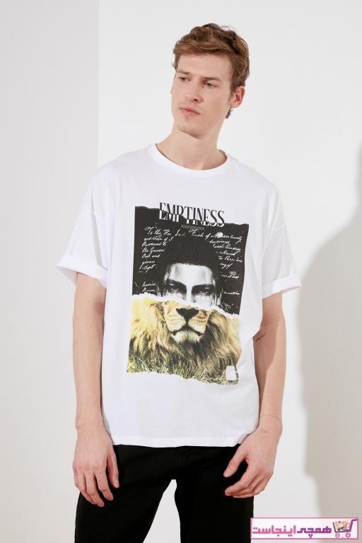 خرید انلاین تی شرت طرح دار برند ترندیول مرد کد ty82441254
