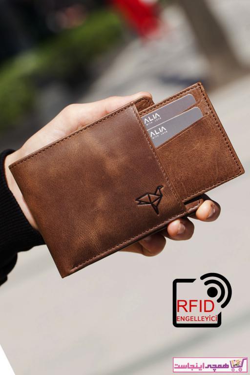خرید نقدی کیف پول دخترانه ترک برند Garbalia رنگ قهوه ای کد ty82498100