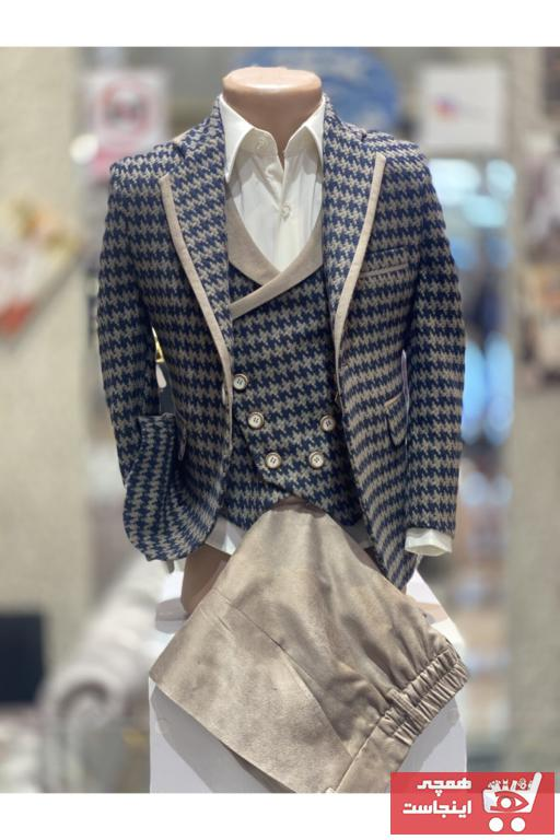 لباس مجلسی بچه گانه قیمت برند Sinan çocuk رنگ قهوه ای کد ty82705262
